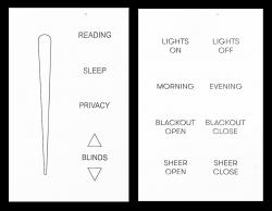 axxess blind controls