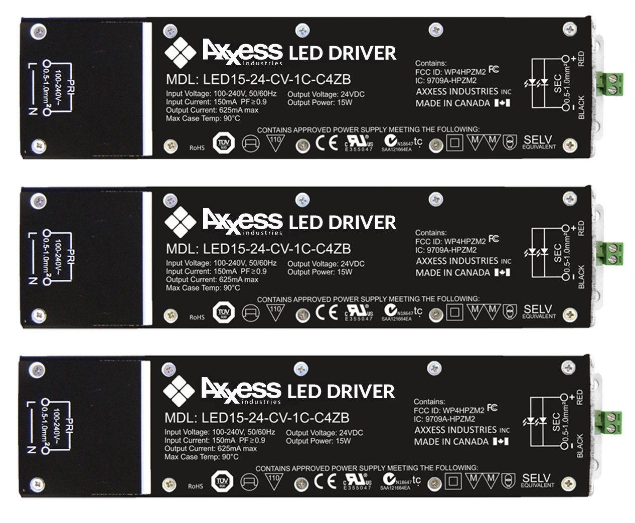 axxes led drivers
