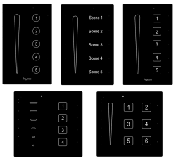 axxesss residential touch keypads