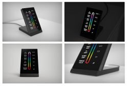 axxess colored touch keypads